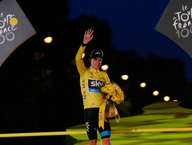 ciclismo Christopher Froome tour de france (Foto: Agência Reuters)