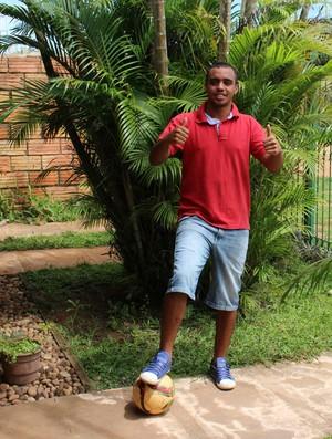 Luís Gustavo, reforço do Guajará (Foto: Júnior Freitas)