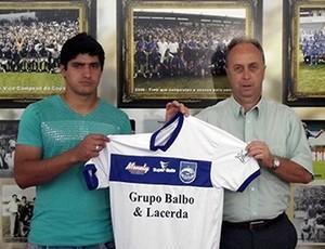 Ramos, ex-jogador do Palmeiras, é apresentado no Rio Claro (Foto: Assessoria Rio Claro FC)
