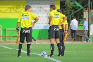 Árbitros Mato Grosso (Foto: Edivaldo Rios/Luverdense Esporte Clube)