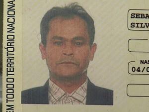 Taxista assassinato durante assalto em Belo Horizonte.  (Foto: Reprodução/ TV Globo)