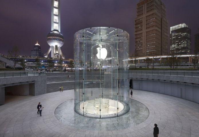 Apple Store em Xangai, na China (Foto: Divulgação/Apple) (Foto: Apple Store em Xangai, na China (Foto: Divulgação/Apple))