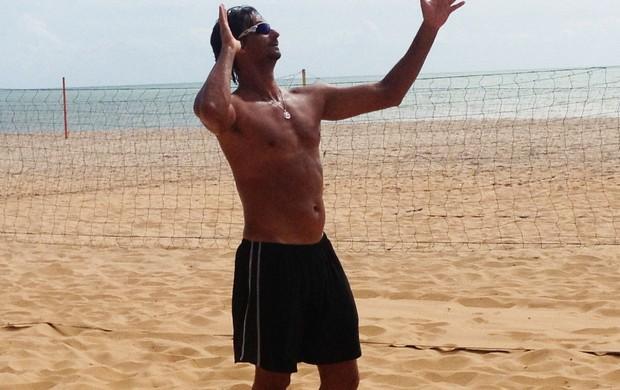 Ricardo, vôlei de praia, campeão olímpico (Foto: Lucas Barros / Globoesporte.com/pb)