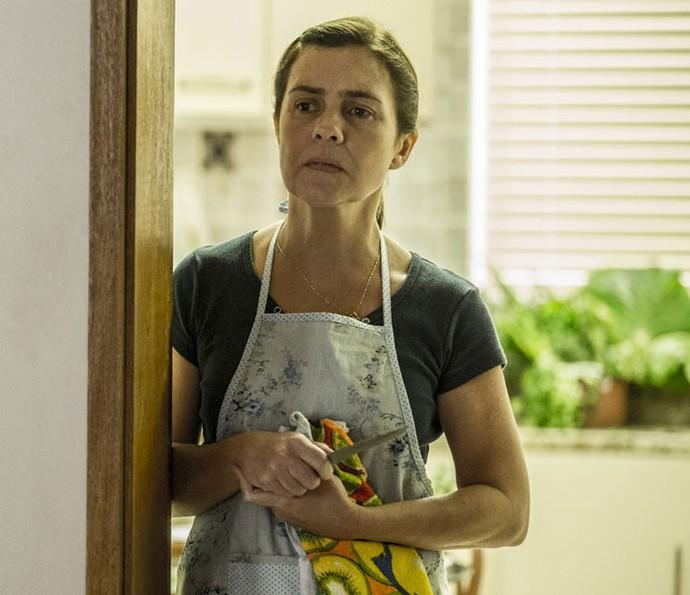 Adriana Esteves é Fátima em Justiça (Foto: Ellen Soares/Gshow)