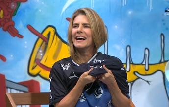 Domingo no SporTV tem Brasileirão  e Maitê pagando promessa por Bota