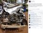Medalhista olímpico no Rio tem carro destruído em acidente, mas sobrevive