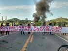 Manifestantes bloqueiam BR-316 em Santa Luzia do Paruá, MA