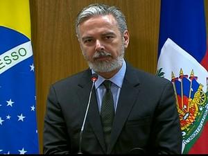 Antonio Patriota (Foto: Reprodução Globo News)