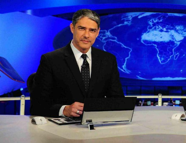 Jornalista Willian Bonner será o mediador do debate entre os candidatos à Presidência da República. (Foto: Rede Globo)