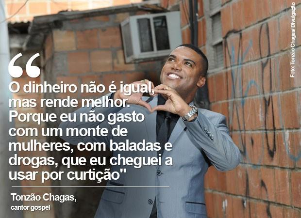 Tonzão fez sucesso na internet com o 'Passinho do Abençoado' (Foto: Divulgação/ Tonzão Chagas)