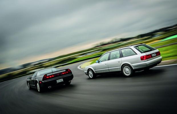 Aceleramos o Audi S4 Avant e o Honda NSX de Ayrton Senna em Interlagos (Foto: Reprodução)