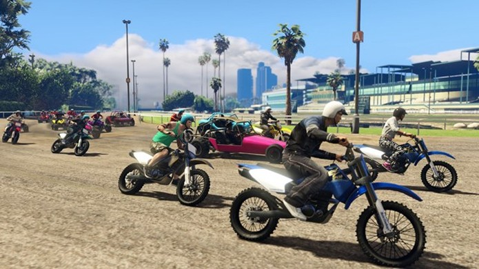 Corridas de GTA Online poderão trazer até 30 jogadores no PlayStation 4 e Xbox One (Foto: VG247)