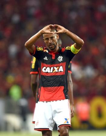 Leo Moura, Flamengo x Nacional Despedida (Foto: André Durão)