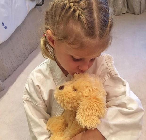 Vivian, filha de Gisele Bündchen e Tom Brady (Foto: Reprodução/Instagram)