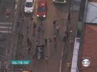 Manifestantes protestam na Lapa contra alta de tarifa do transporte