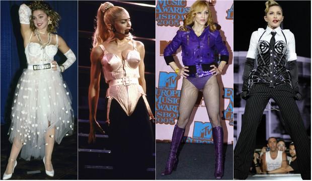 Madonna - Transformações (Foto: Getty Images)