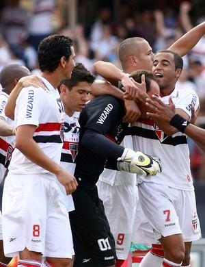 Rogerio ceni são paulo gol náutico (Foto: Marcos Bezerra / Agência Estado)