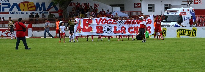 Sergipe x Coritiba-SE (Foto: João Áquila / GloboEsporte.com)