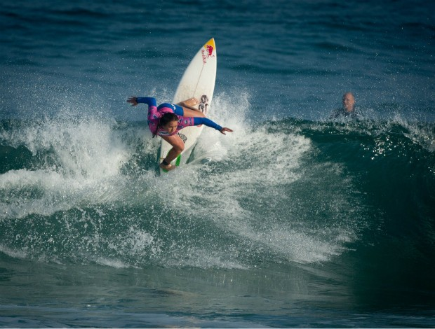 Surfe Carissa Moore campeã Biarritz (Foto: Divulgação/ASP)