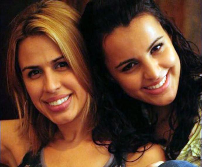 Alline e Allice Tirolla The Voice Brasil (Foto: Arquivo pessoal)