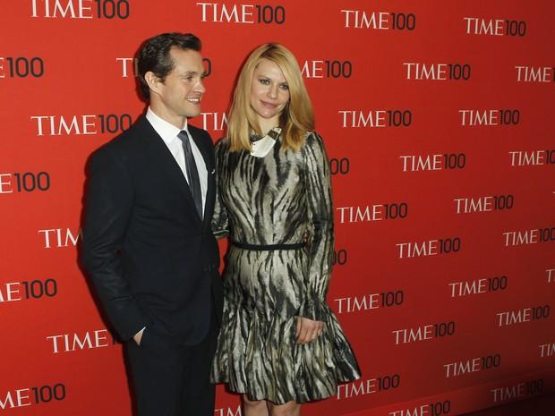 Claire Danes e Hugh Dancy em evento em Nova York, nos Estados Unidos (Foto: Lucas Jackson/ Reuters)