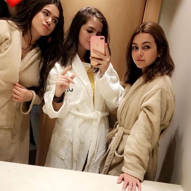 Maisa Silva, Mel Maia e Klara Castanho (Foto: Reprodução/Instagram)