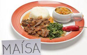 Maísa Campos: picadinho de carne com farofa de cenoura e couve manteiga
