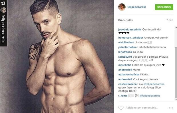 Felipe de Carolis (Foto: Reprodução/Instagram)