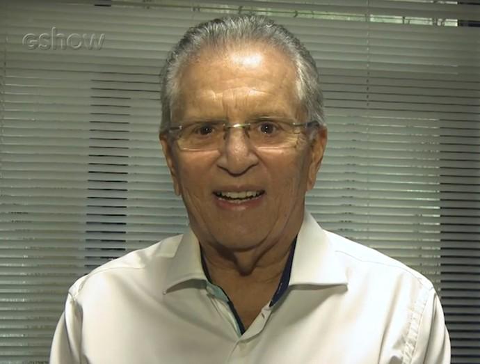 Carlos Alberto de Nóbrega comenta participação especial no Tá no Ar (Foto: Gshow)