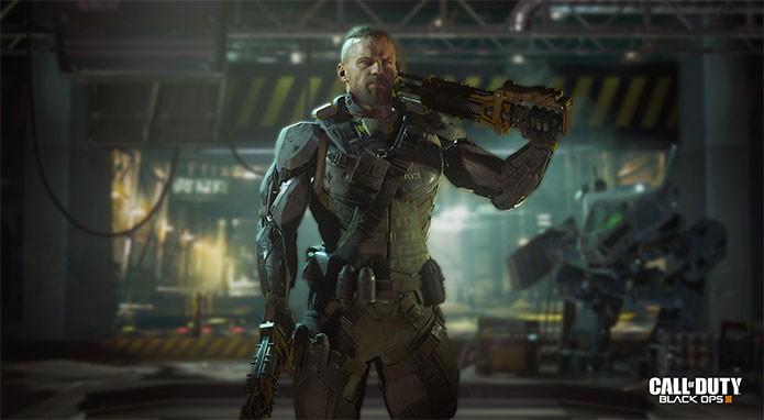 Call of Duty Black Ops 3 tem equipamentos de última geração (Foto: Divulgação)