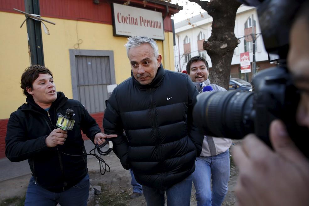 Fernando Felicevich, empresário que negocia com o Vasco a contratação de Leo Valencia (Foto: Agência Reuters)