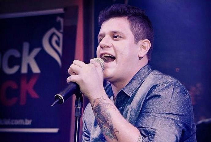 Rondoniense Henrique Miranda concorre para ser novo vocalista da banda Malta (Foto: Rafael Miranda/Arquivo pessoal)