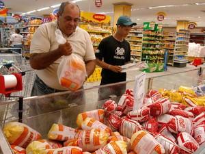 Frango Congelado Belém Preços Reajuste Pará Dieese Pesquisa (Foto: Cristino Martins/O Liberal)