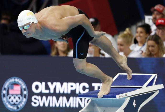 Ryan Lochte 200m livre seletiva americana natação Omaha (Foto: Reuters)