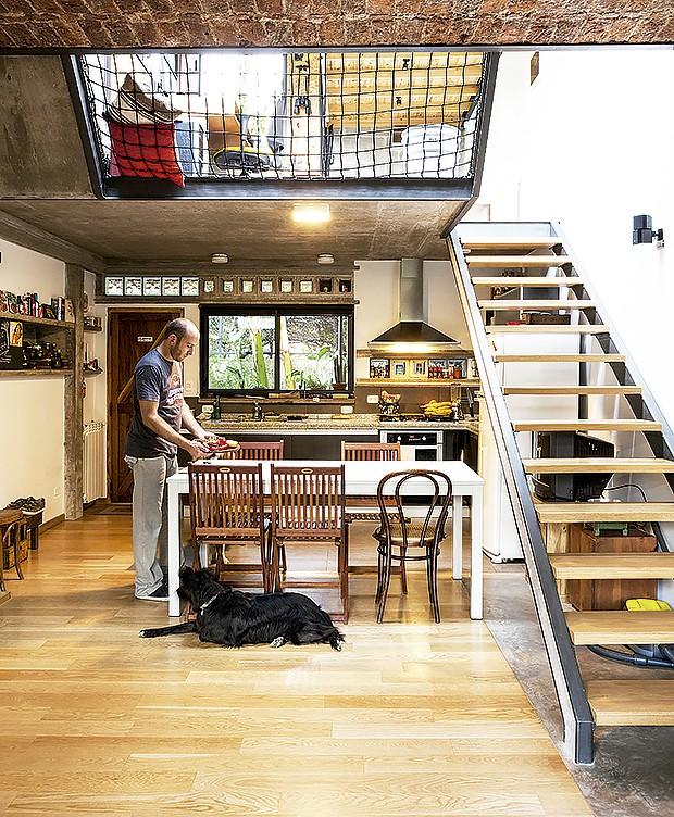 Cozinhas é uma das paixões de Sergio (Foto: Life by Lufe)