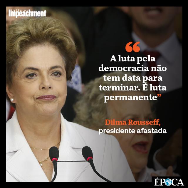 Pronunciamento Dilma (Foto: Época)