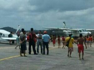Quatro aeronaves de pequeno porte foram apreendidas (Foto: Arquivo pessoal)