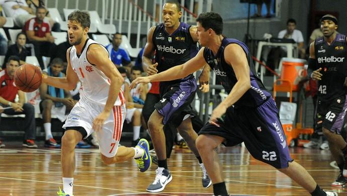 jogo basquete Flamengo e Mogi das Cruzes NBB (Foto: Alexandre Vidal / Fla Imagem)