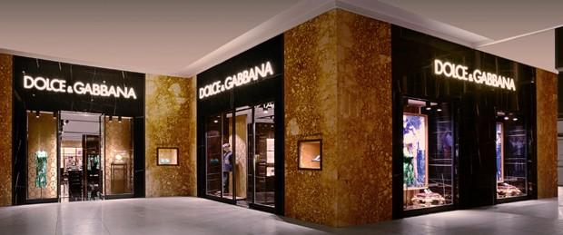 Nova loja da Dolce & Gabbana no Rio de Janeiro (Foto: Divulgação)