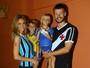 Fernanda Lima e Rodrigo Hilbert comemoram o aniversário dos filhos