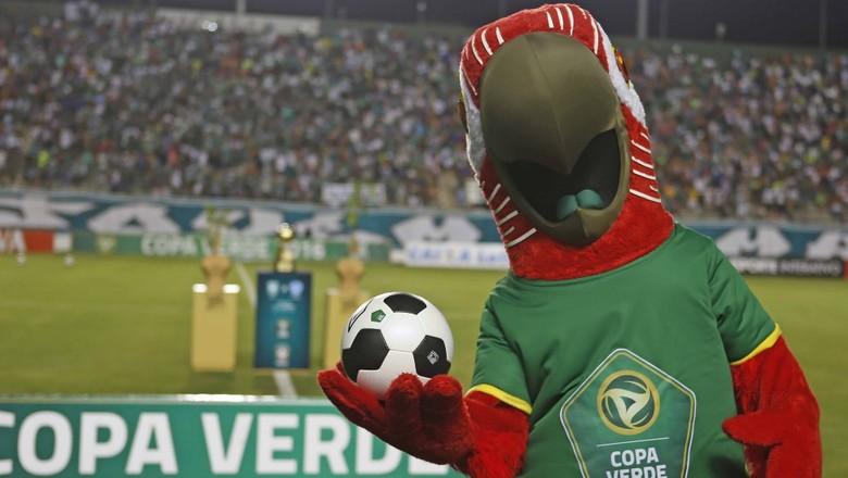 copa-verde-2017-mascote-futebol-vermelhao (Foto: Rafael Ribeiro / CBF)