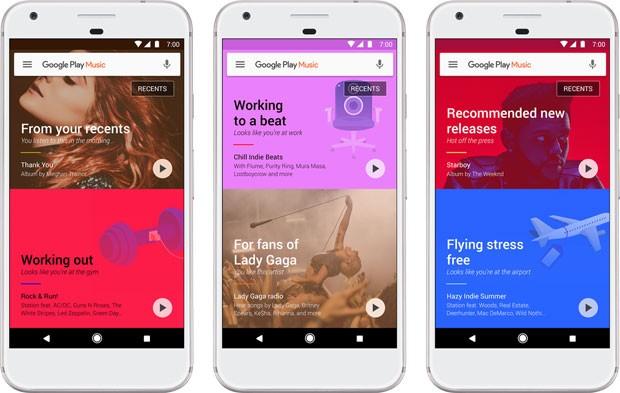 Google Play Música, serviço de streaming da empresa norte-americana de internet. (Foto: Divulgação/Google)