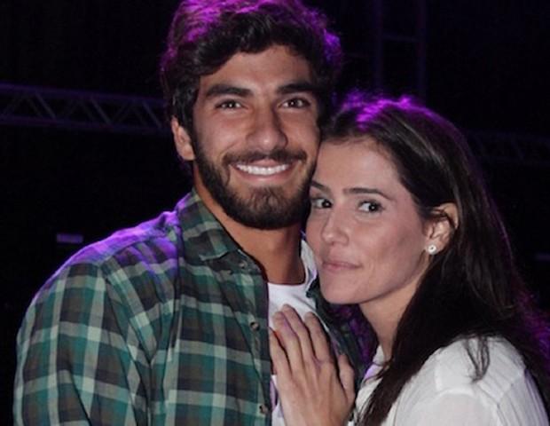 Hugo e Deborah (Foto: Instagram)