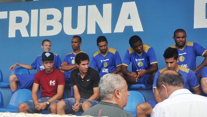 Clayton Sales e Mário Sérgio (Foto: Guilherme Gonçalves/GloboEsporte.com)