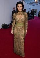 Kim Kardashian e Demi Moore apostam em transparência ousada