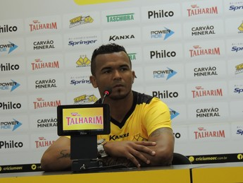 Zé Carlos Criciúma atacante (Foto: João Lucas Cardoso)