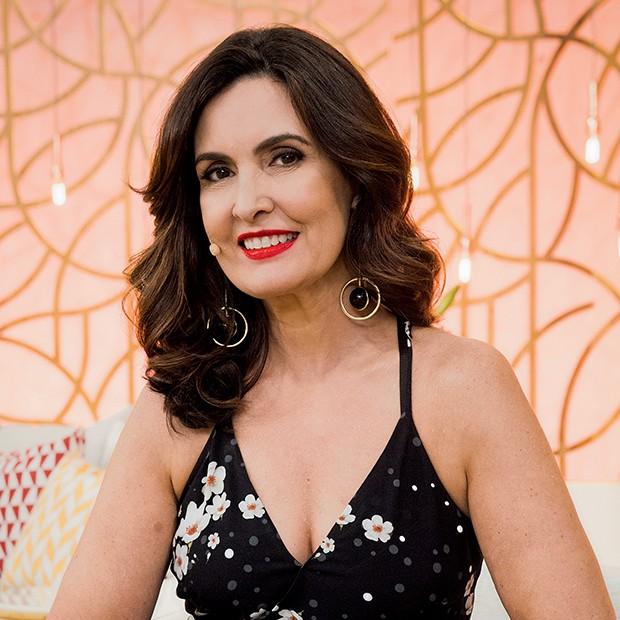 Fátima Bernardes (Foto: João Miguel Júnior / TV Globo)