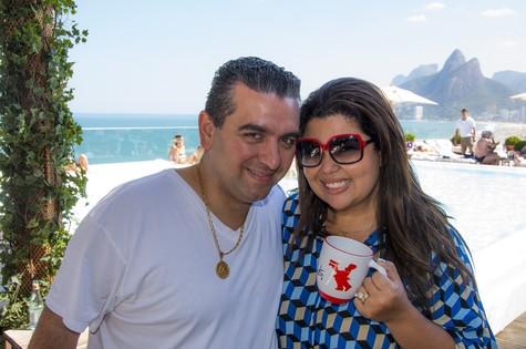 Buddy Valastro e Fabiana Karla (Foto: Pino Gomes)