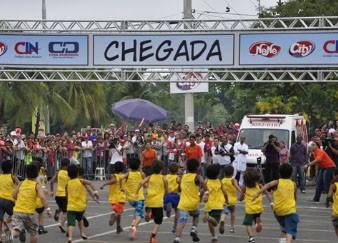 Corrida do reizinho (Foto: TV Centro América)