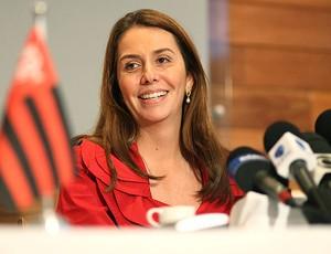 Patrícia Amorim presidente do Flamengo (Foto: Alexandre Vidal / Fla Imagem)